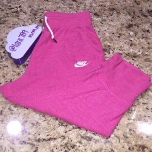 Girls Nike Cropped Pants